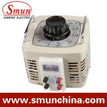 Saída 0 ~ 250VAC da fase monofásica da entrada 220VAC do regulador de tensão do contato 1kVA