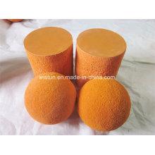 Dn125 pelota de esponja de goma / bola de limpieza