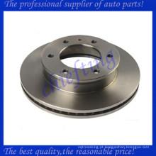 freio a disco de alto desempenho do rotor traseiro e freio a tambor com preço barato