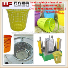 plastic injection household garbage bin mould made in China/OEM Custom plastic injection household commodity garbage bin mold