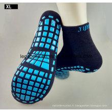 Trampoline Park Custom pas cher en gros chaussette antidérapante