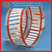 Manchons d'identification de câbles thermorétractables sans halogène, respectueux de l'environnement
