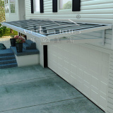 large shade door canopy