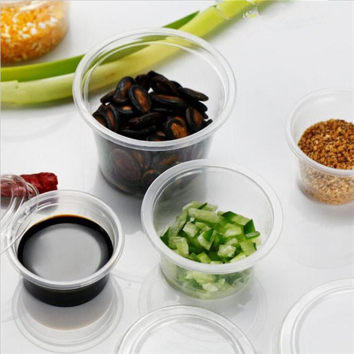 Plastic Sauce Container