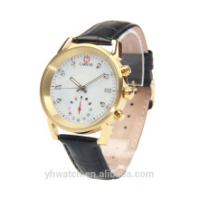 Latest design water resistant stainless steel leather gt08 smart watch
