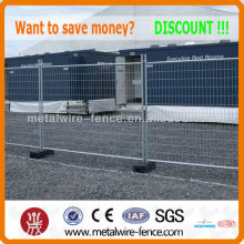 hot-dipped galvanized construction temporary fence