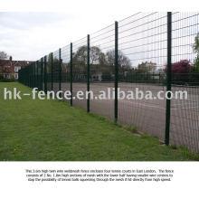 1 grüner Zaun 358