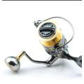 Bobine de pêche de bobine de pêche de filature de bonne conception en aluminium