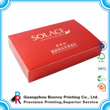 Individuelle Kissenverpackung / Schuh- / Kosmetikboxdruck