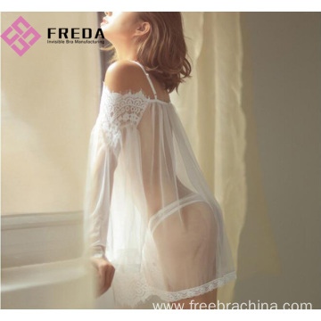 Hot Sexy Seductive Perspective lace nightdress