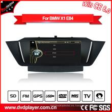 Windows Ce Audio Radio de coche para BMW X1 E84 con GPS Bluetooth Pod Radio Hualingan