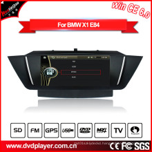 Windows Ce Audio Car Radio for BMW X1 E84 with GPS Bluetooth Pod Radio Hualingan