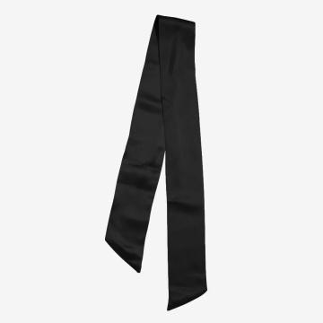 Rubans de soie de mûrier pur couleur unie foulard en soie sac à main poignée Wrap écharpe bandeau attaché sac poignée écharpe