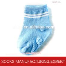 Baby-Anti-Rutsch-Silikon beschichtete Socken (UBUY-106)