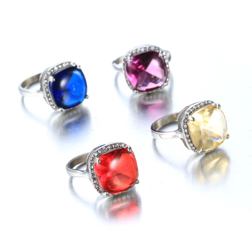 Cutting stone Gemstone ring