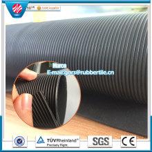 Feuille de caoutchouc industriel de feuille de caoutchouc d'insertion de tissu