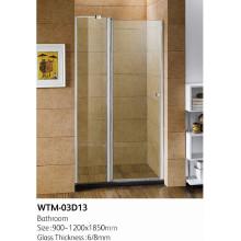 Top-Qualität Scharnier Duschtür Wand zu Wand WTM-03D13