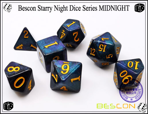 Starry Night Dice-2