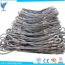 SS316 6X19 + IWRC 5mm de aço inoxidável não magnético corda de arame