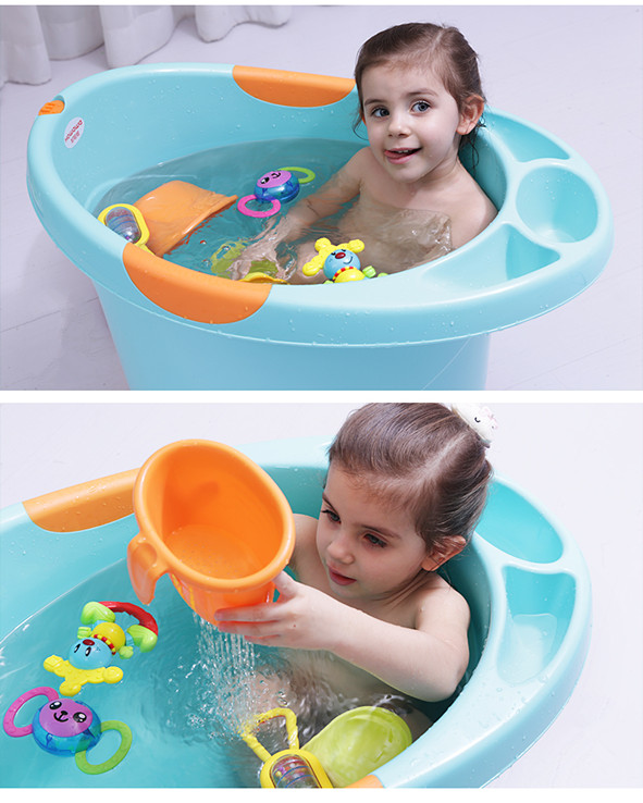 Deep Bathtub Bathing