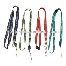 Cordão de poliéster personalizado / cinta de pescoço / neck lanyard