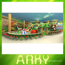Fantasy forest soft play equipment