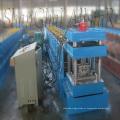 Purlin de Sigma aço galvanizado formando máquina/rack prateleira metal post rolo antigo Metal Sigma post Máquina Perfiladeira