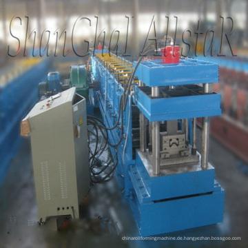 Hochwertiges Rack aufrechten Blatt Walzprofilieren Maschine/Rack aufrecht Profiliermaschine gemacht Allstar in shanghai