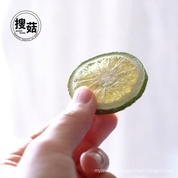 Dried green lemon fruits tea snack lemon peel dried