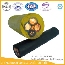 Electric Trailing Rubber Cables for use in mines