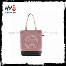 Nova fashional maravilhosa lona sacola com ótimo preço