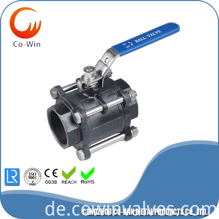 1000psi steel ball valve