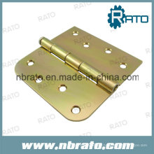 Zinc Plated Flat Iron Door Hinge