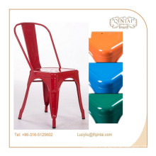 china supplier european style country style coffee shop metal side chair