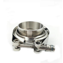 Stainless Steel V-Band Clamp Turbo Exhaust Down Pipe