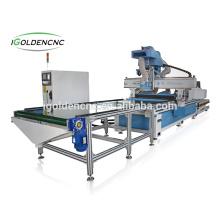 Máquina de madera del router del CNC del diseño de la puerta de la venta caliente 2017