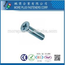 Fabriqué à Taiwan en acier inoxydable Phillips Drive Countersunk Head Machine Screws