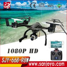 2017 Новый профессиональный drone с камерой 668-R8W RC горючего 2.4 г WiFi fpv Дрон 5.0 МП 1080p камеры высокого качества