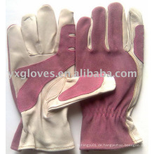 Lederhandschuh-Hand Handschuh-Geschützter Handschuh-Sicherheitshandschuh