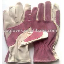 Кожаные Перчатки-Руки Перчатку-Защищенные Перчатки Безопасности Перчатки