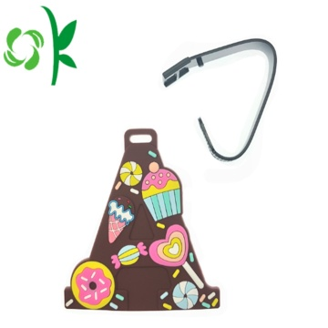 Cartoon Silicone Bagage Bagage Tag Maker