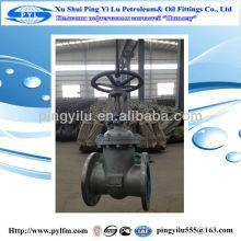 Oil pipe gate valve