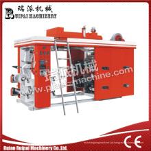 Máquina de impressão flexográfica de alta velocidade com 4 cores