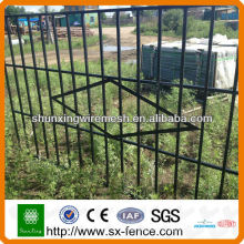 (Factory)PVC coated iron house gate grill designs