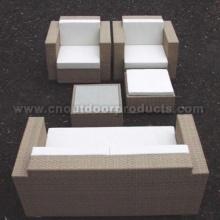 Muebles de ratán sofá jardín