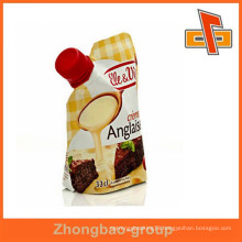 Accept Custom Order and Laminated Material food pouch with spout