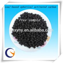 Fabrikpreisstützpelletaktivkohle / kohlebasierte kugelförmige Kohle Aktivkohle