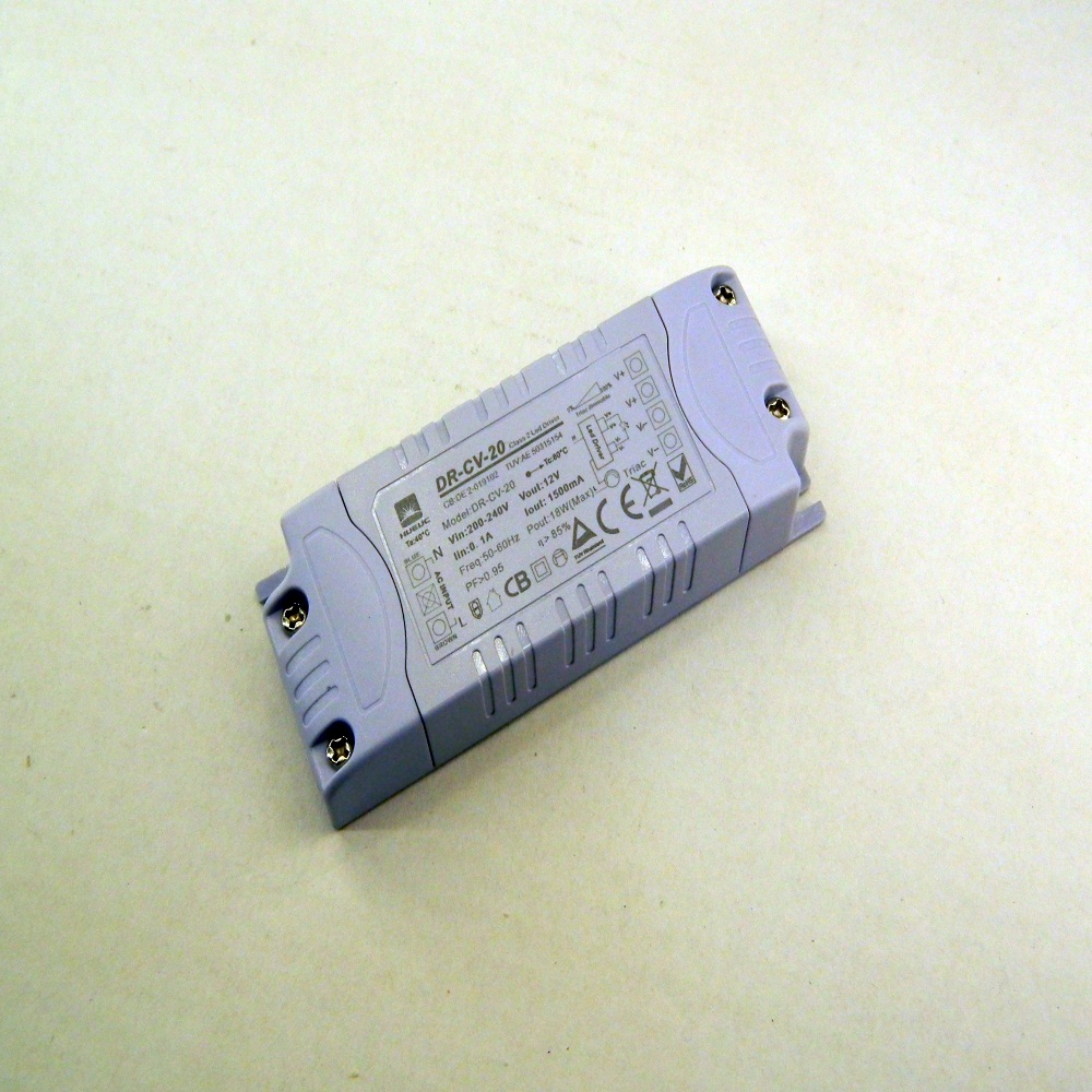 220v to 12v LED driver, LED transformer 20W TUV certification driver