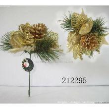 Декоративный пластик Рождество блеск кирки,украшения