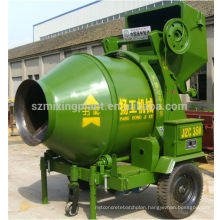 350L JZC350 Electric Concrete Mixer with Wire Rope Hopper Tipping